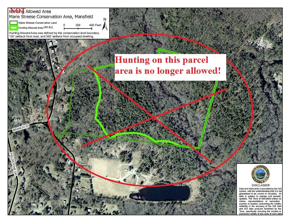 No Hunting - Streese Conservation Land
